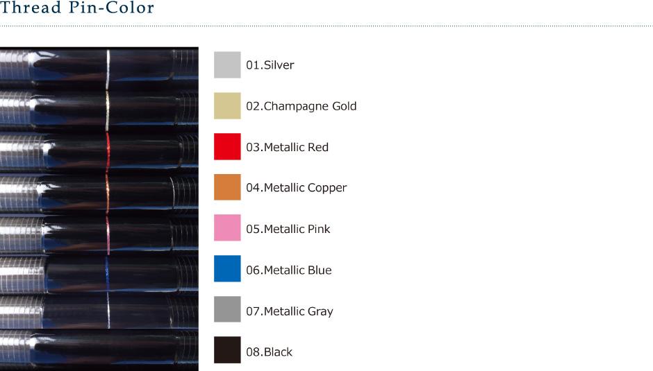 Thread Pin Color