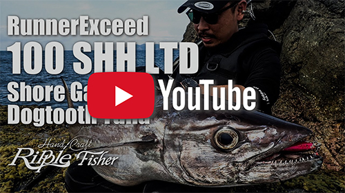RunnerExceed 100SHH Limited / Shore Game Dogtooth Tuna