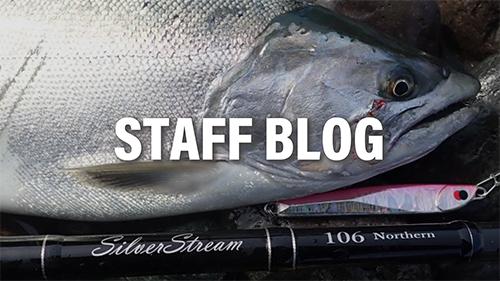 【釣行レポート】SilverStream 106 Northern Nano 海サクラマス