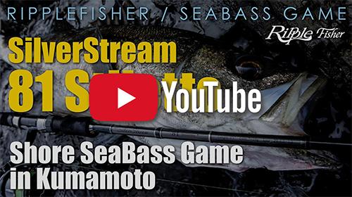 SilverStream 81 Stiletto × Shore Seabass Game